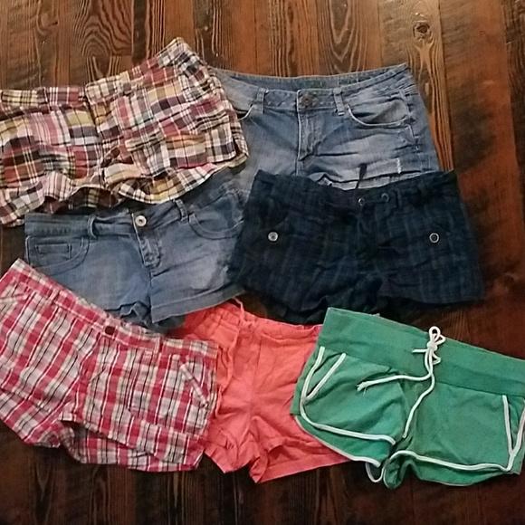 5a4941f544b1 American Eagle Outfitters Pants - Lot of shorts American Eagle Dollhouse  Arizona